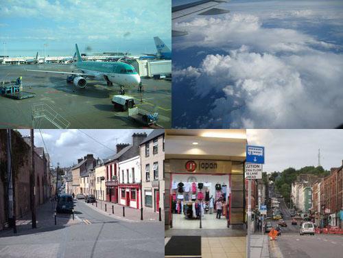 2009年7月14日:出発とコーク(アイルランド)