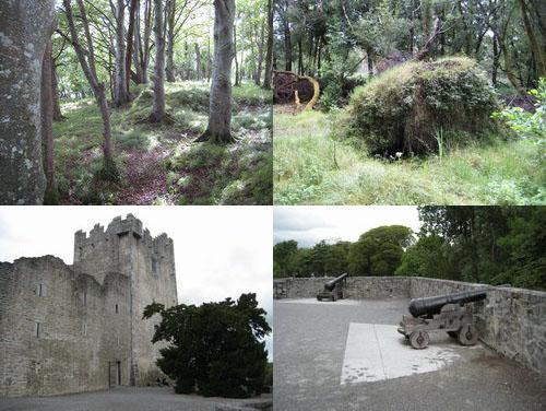 キラーニ国立公園とロス城