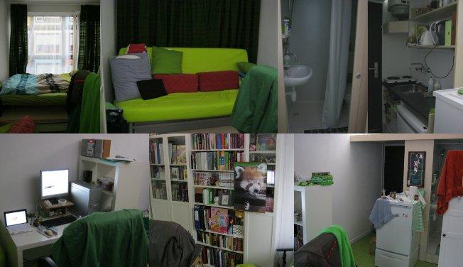 2011年10月:新しい部屋