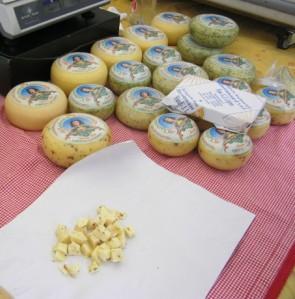 2013年5月17日:チーズを食べてみる