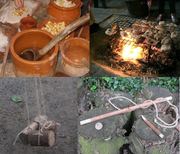 2013年6月23日:Lunch in het Prehistorisch Dorp / 鉄器時代のお昼ご飯