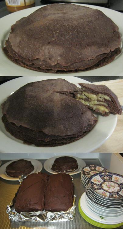 2013年10月:パンケーキのパイ