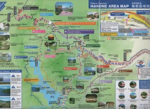 Hakone map