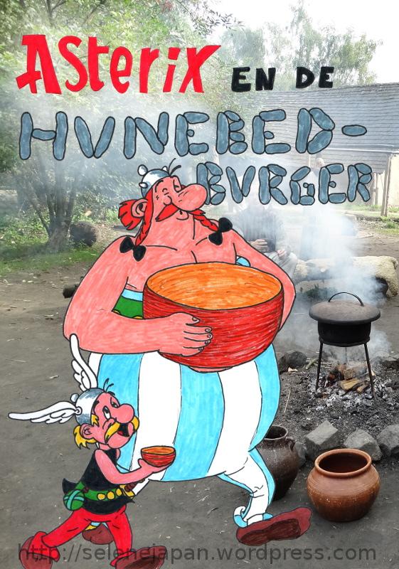 Asterix en de Hunebedburger