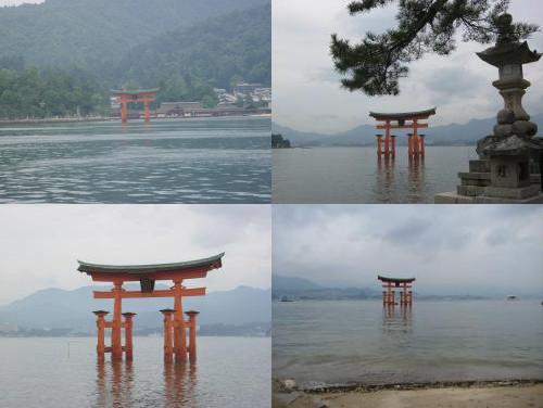Itsukushima gate (厳島神社の鳥居)