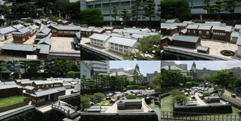 Dejima scale model
