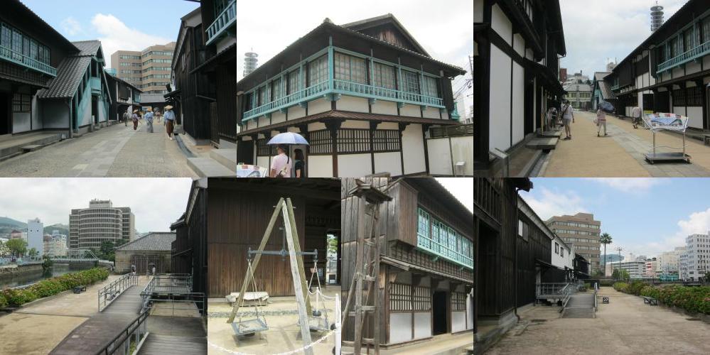 Streets of Dejima, Nagasaki