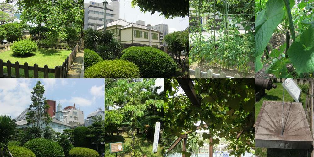 Garden on Dejima, Nagasaki.