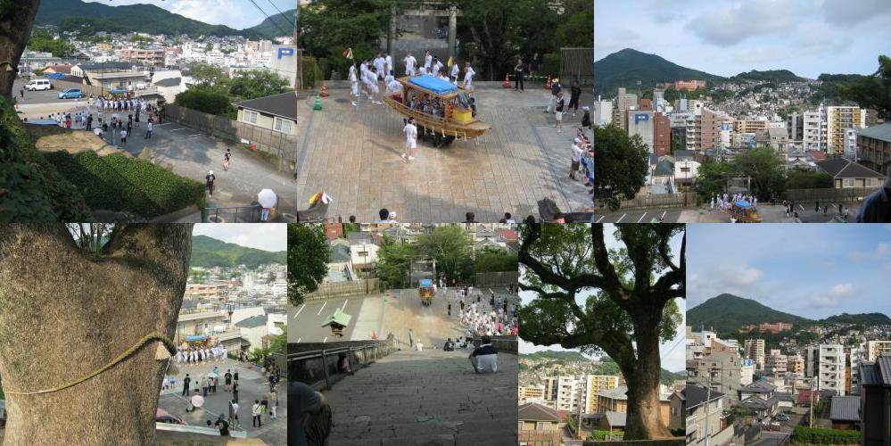 Suwa Jinja festival, July 20.