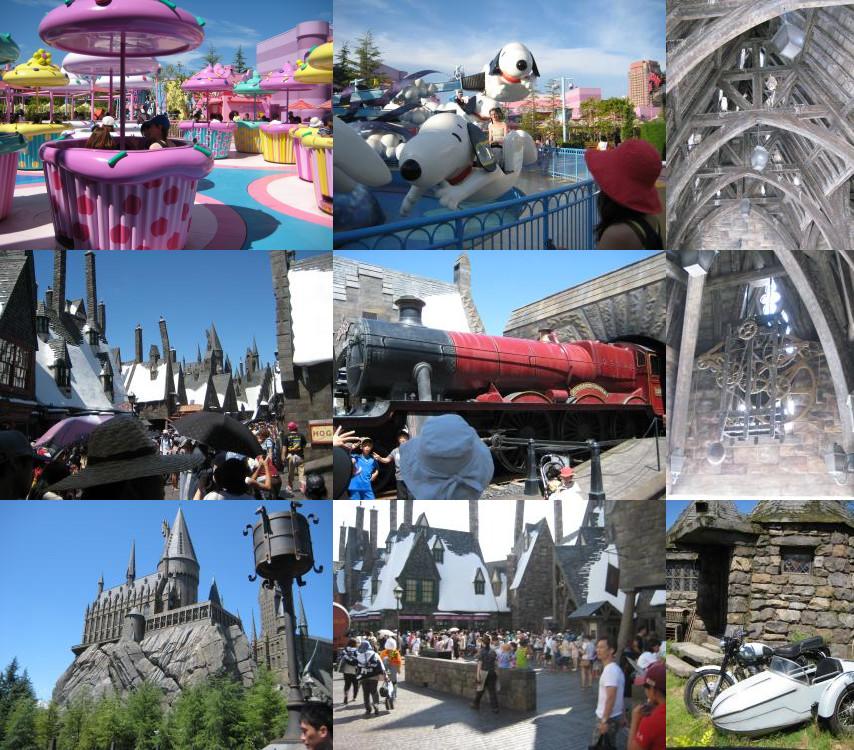 Harry Potter in Universal Studio Japan (USJ)