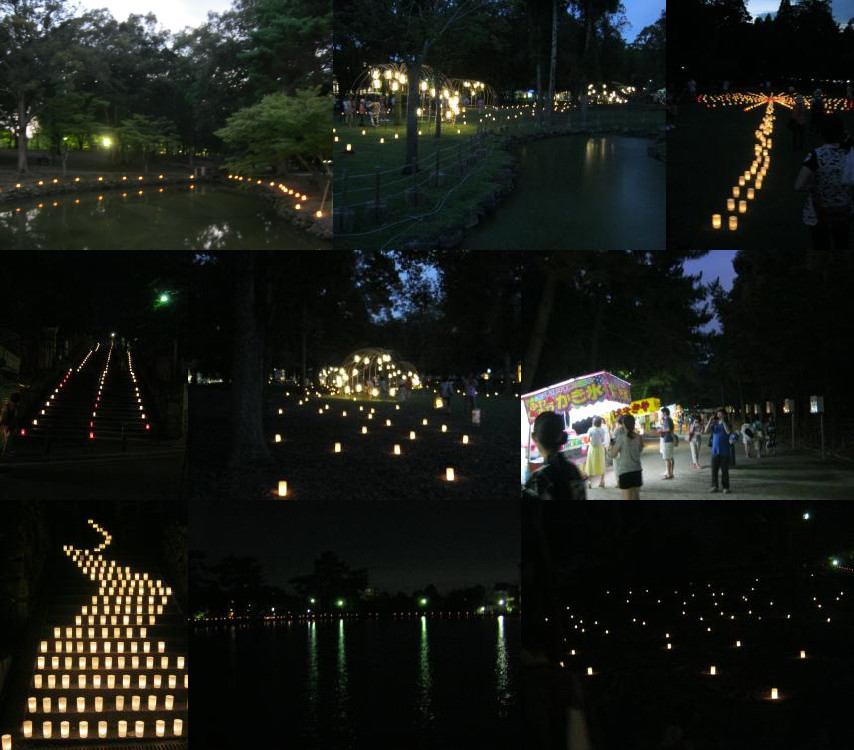 なら燈花会 (Nara Toukae)