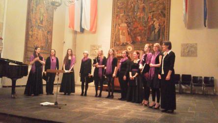 ユトレヒト大学で、メデューサ女子合唱部の夏コンサートがあった。