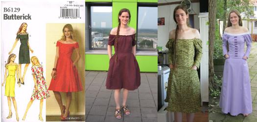 Butterick B6129 jurken