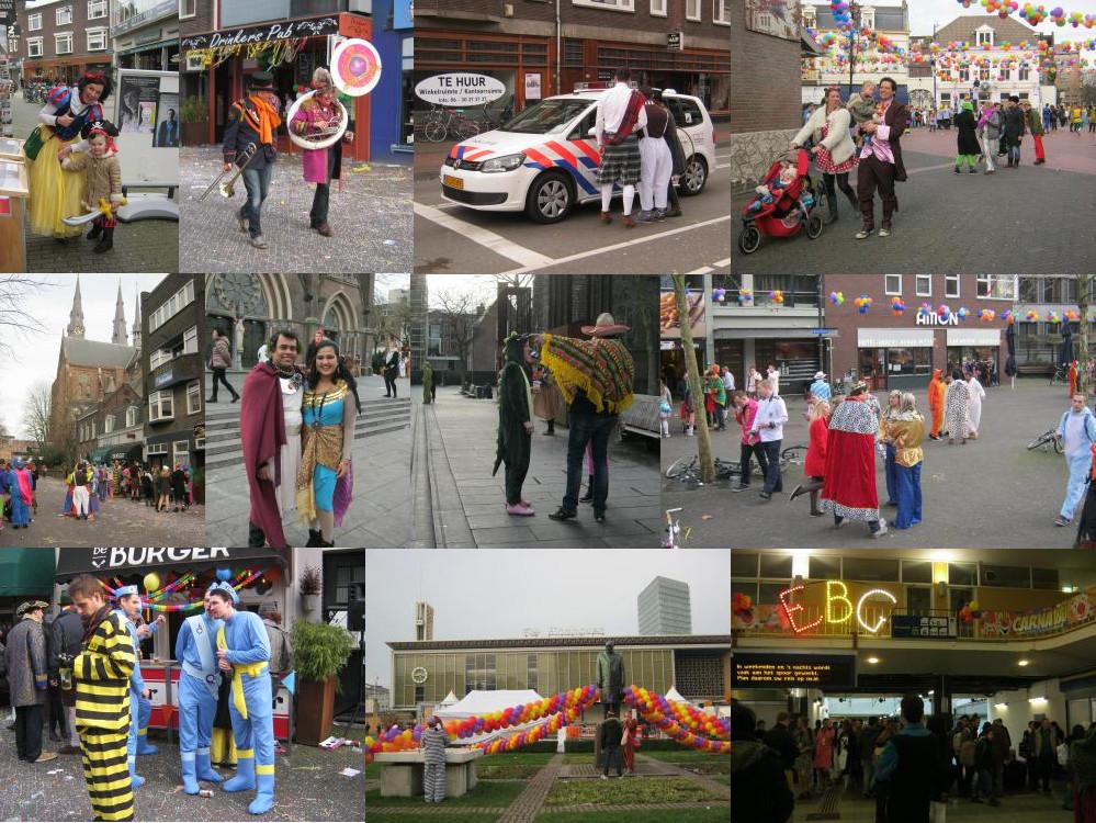 Carnaval op straat, Eindhoven, 2016