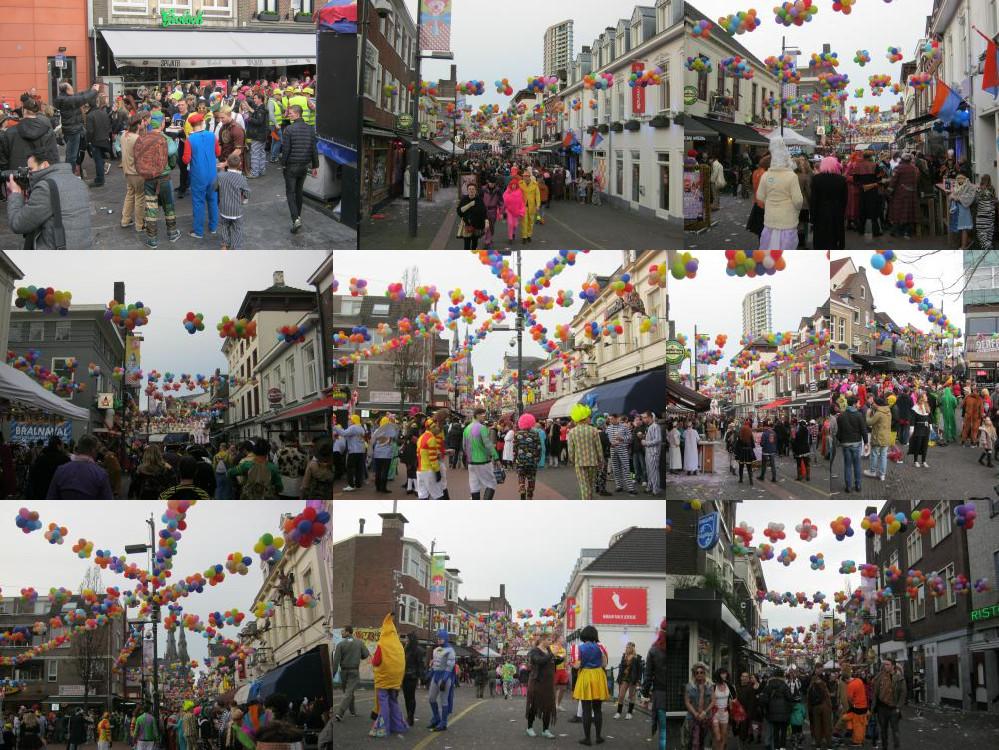 Stratumseind met carnaval 2016, Eindhoven