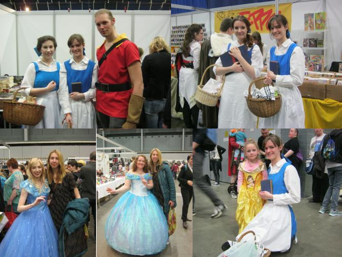 Belle & Cinderella, Dutch Comic Con 2016, Utrecht