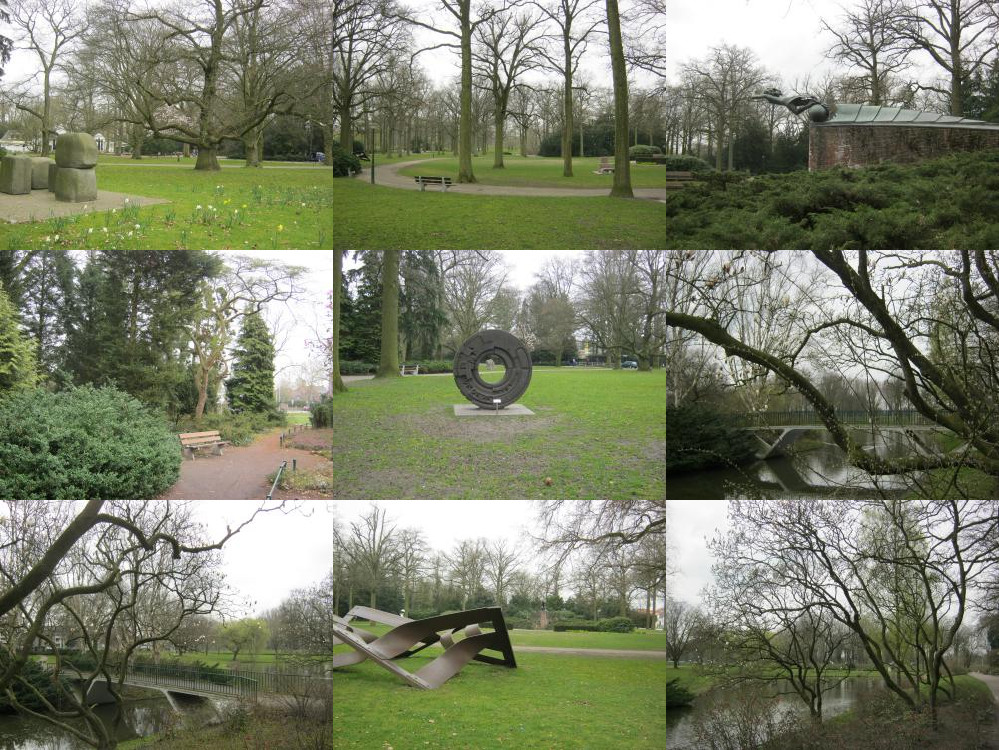 Beelden in Stadswandelpark Eindhoven