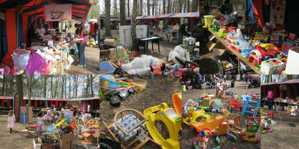 Rommelmarkt Eindhoven scouting Albert Schweitzer