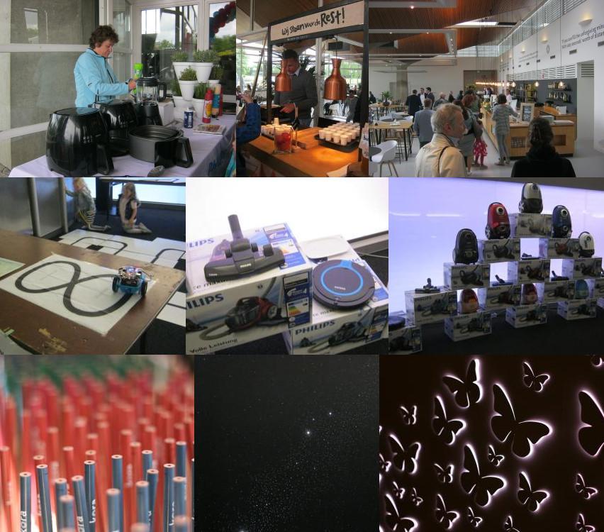 Producten in het Evoluon