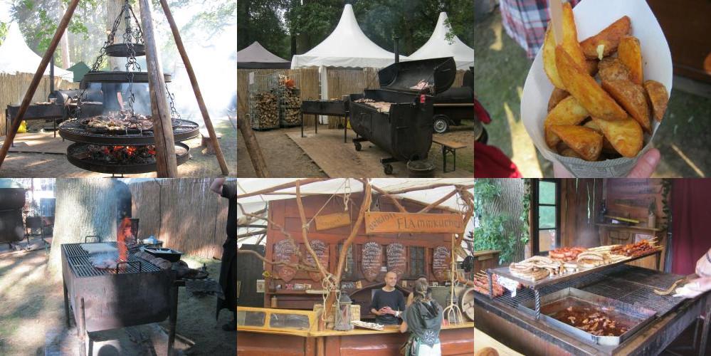 Food at Castlefest