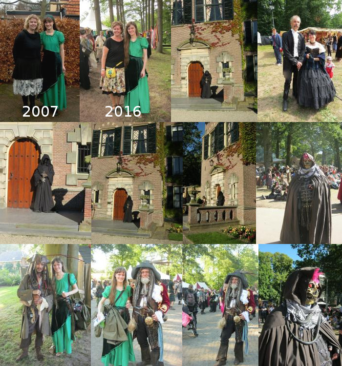 Costumes at Castlefest