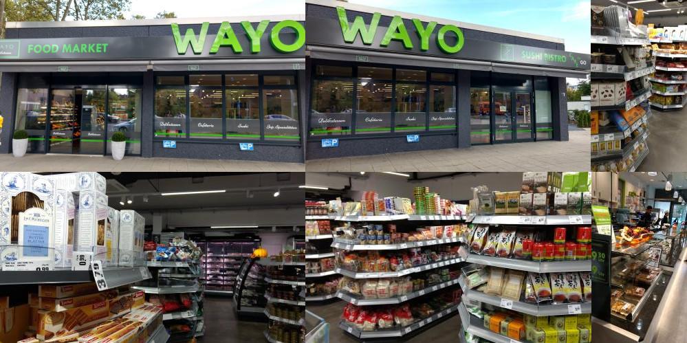 WAYO デュッセルドルフの日本のスーパー