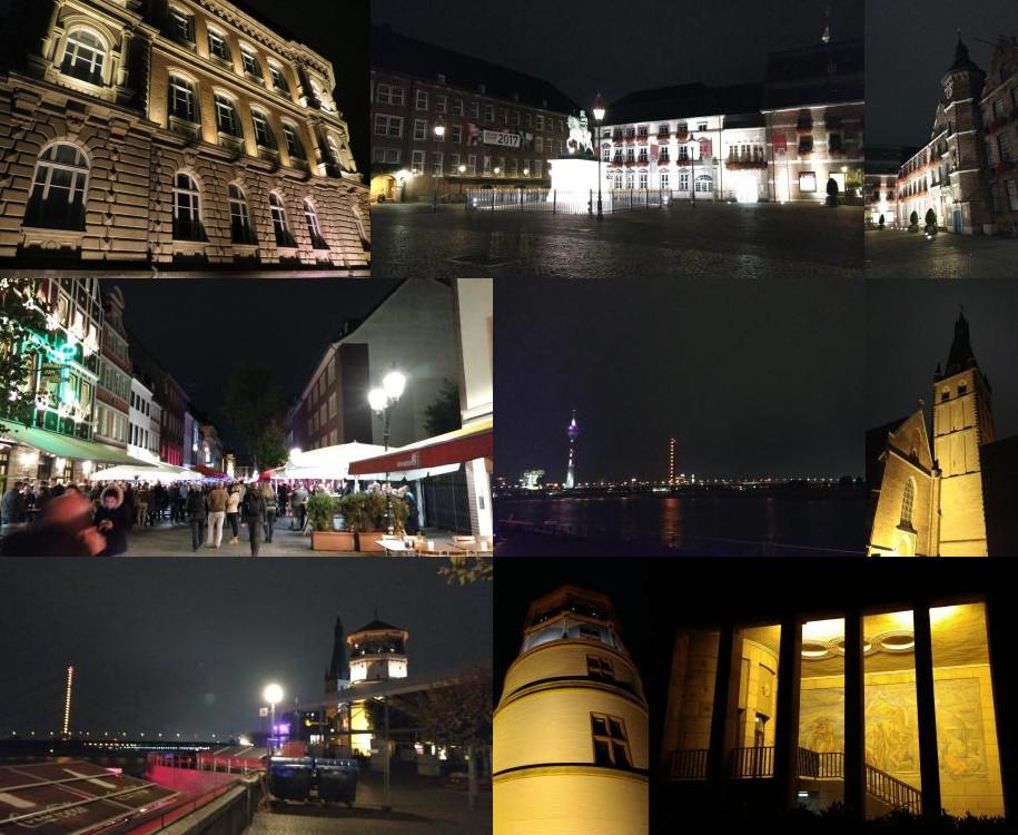 Altstadt Düsseldorf, night