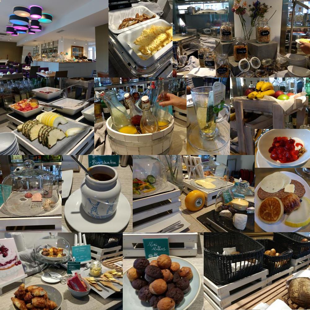 Hotel Indigo Dusseldorf breakfast