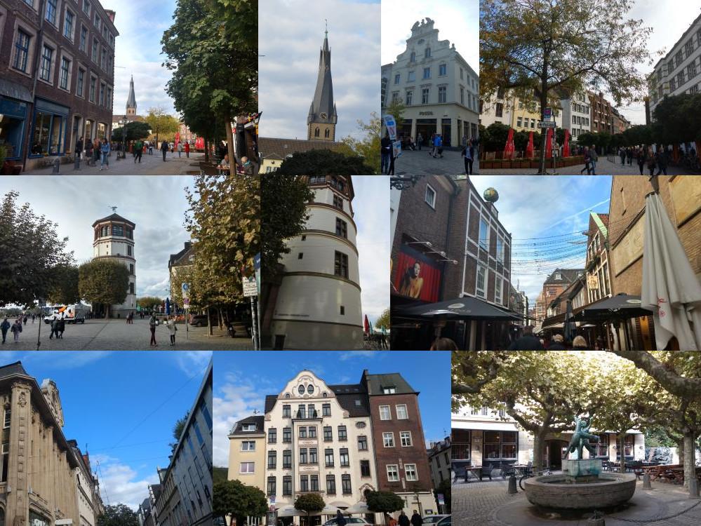 Altstadt Düsseldorf, day