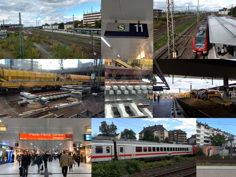 Train in Dusseldorf
