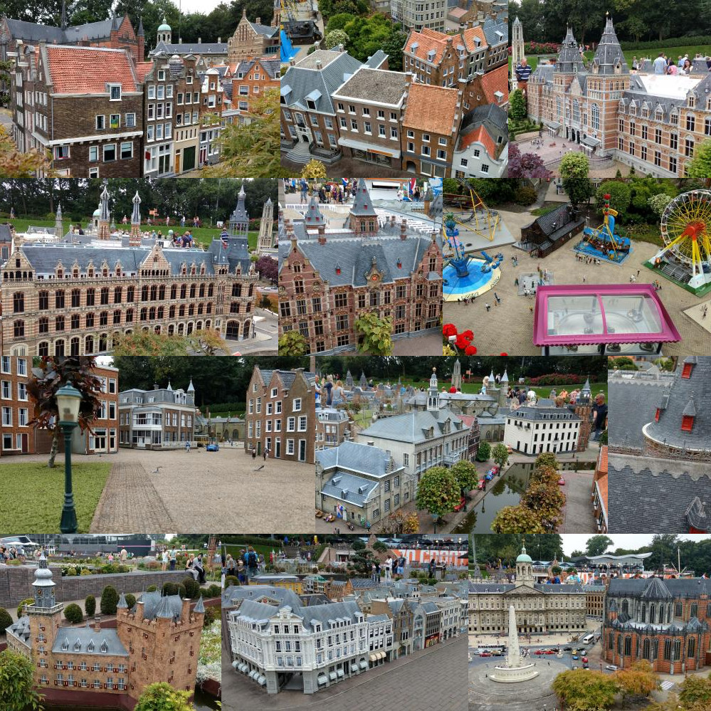 Amsterdamse gebouwen in Madurodam