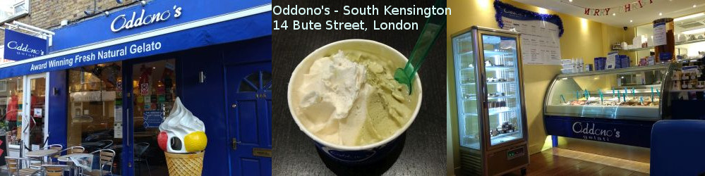 Oddono's icecream, South Kensington, London