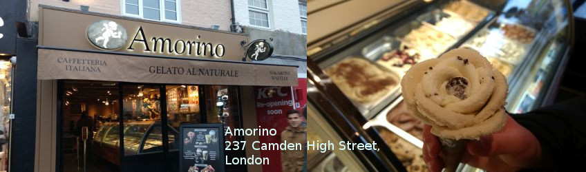 Amorino icecream, Camden Town, London