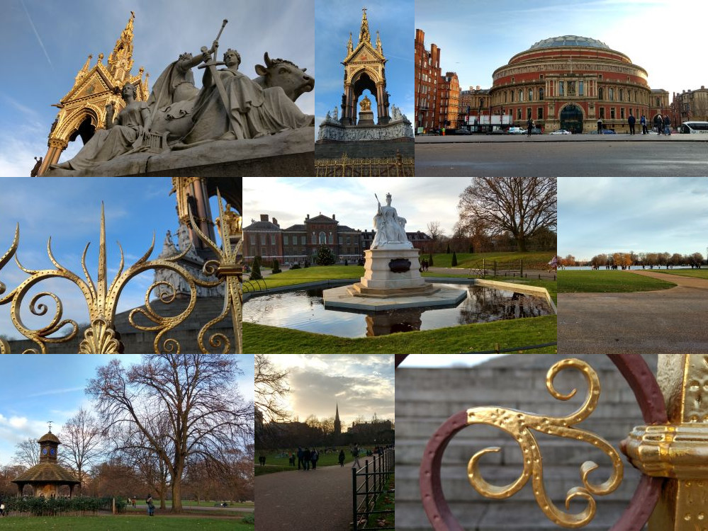 Kensington Gardens in London