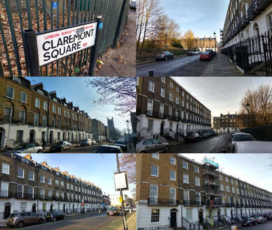 Grimmauld Place (Claremont Square), London