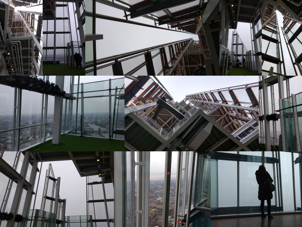 The Shard uppermost viewing platform