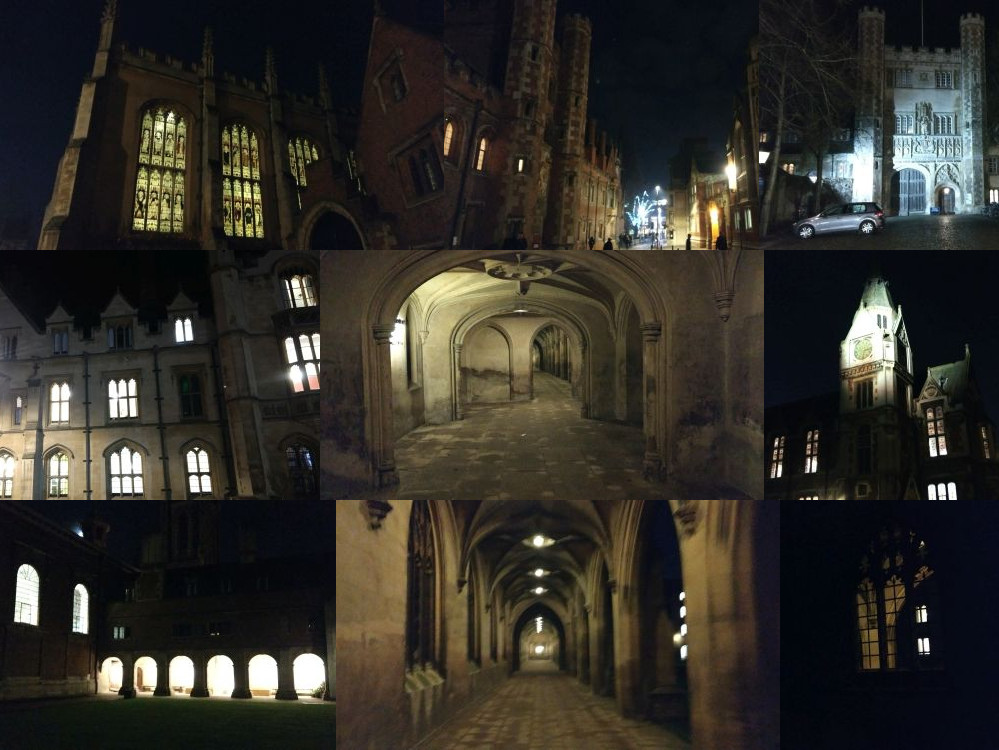 Cambridge by night