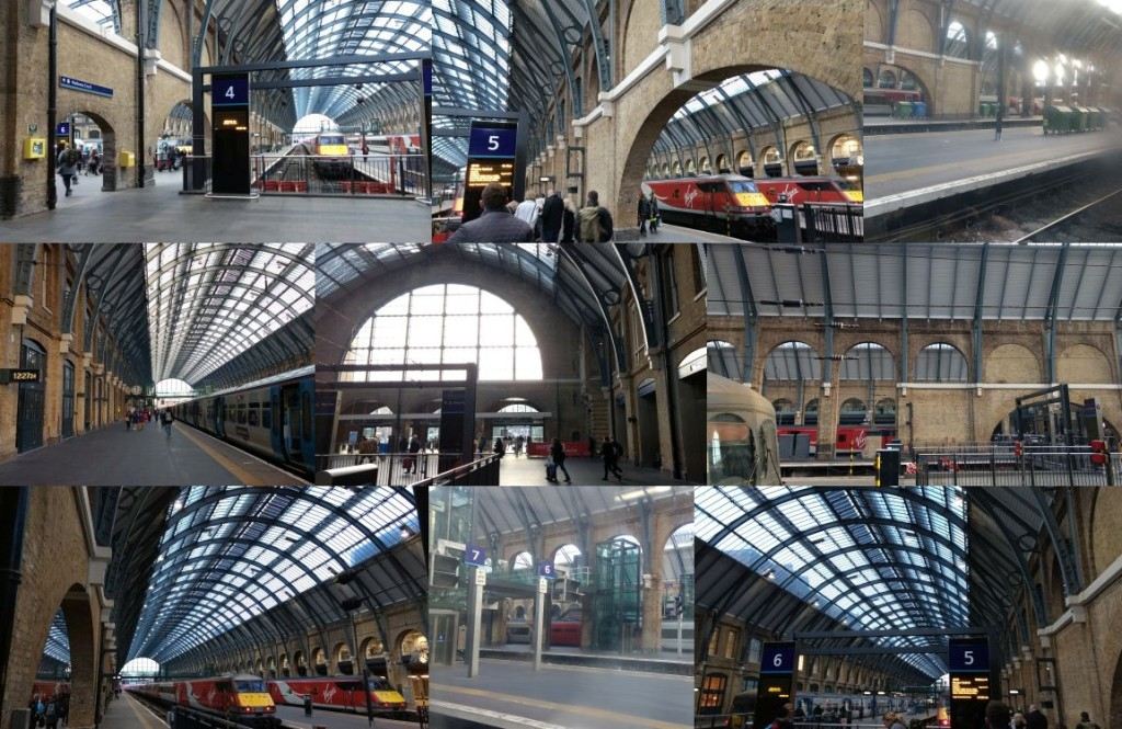 King's Cross Station, Harry Potter movie location.