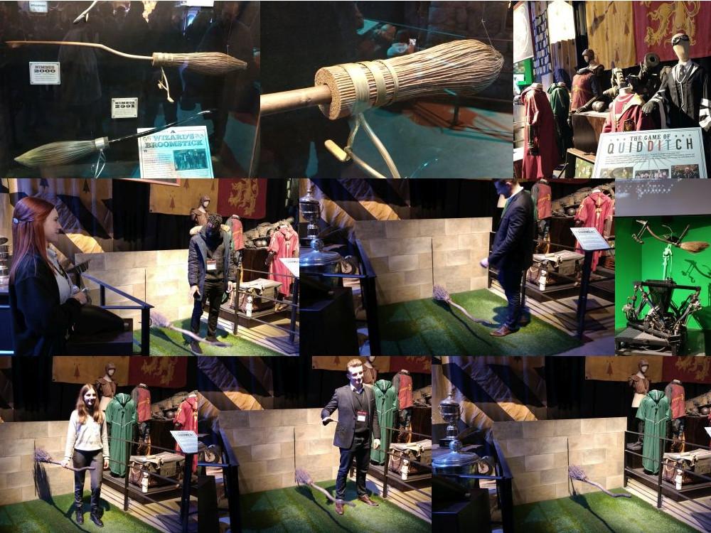Moving broomsticks, Harry Potter Studios Leavesden