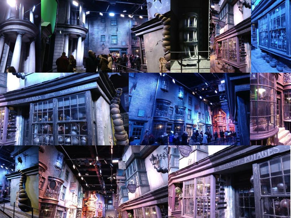 Diagon Alley in Leavesden Studios