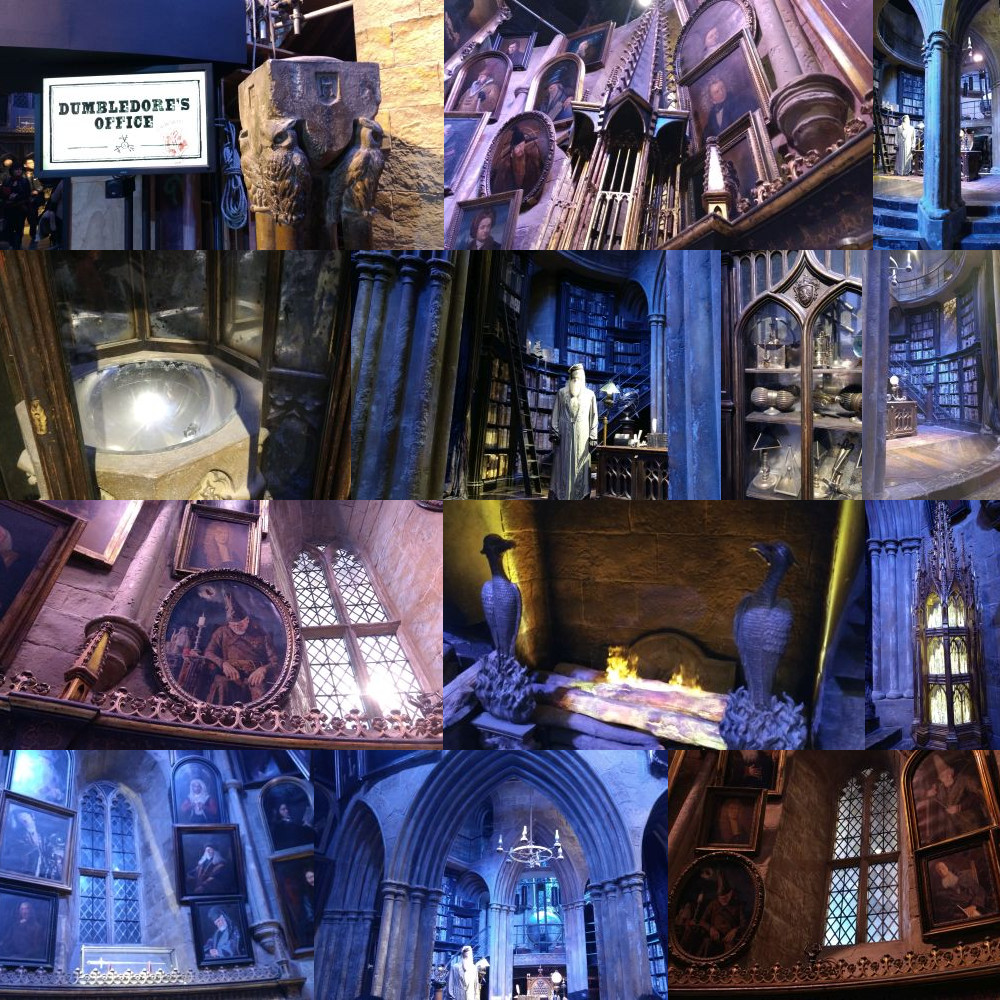 Dumbledore's Office, Harry Potter Studios Leavesden