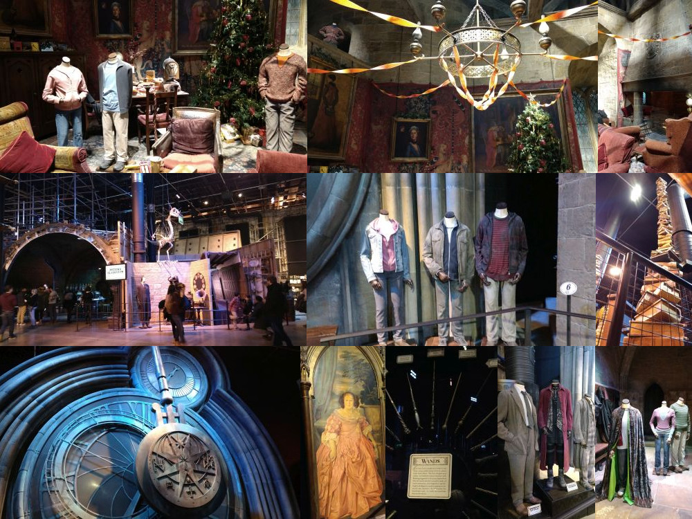 More Hogwarts @ Harry Potter Leavesden Studios