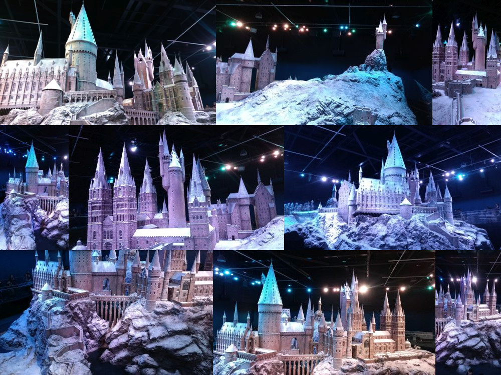Hogwarts model, Leavesden Studios
