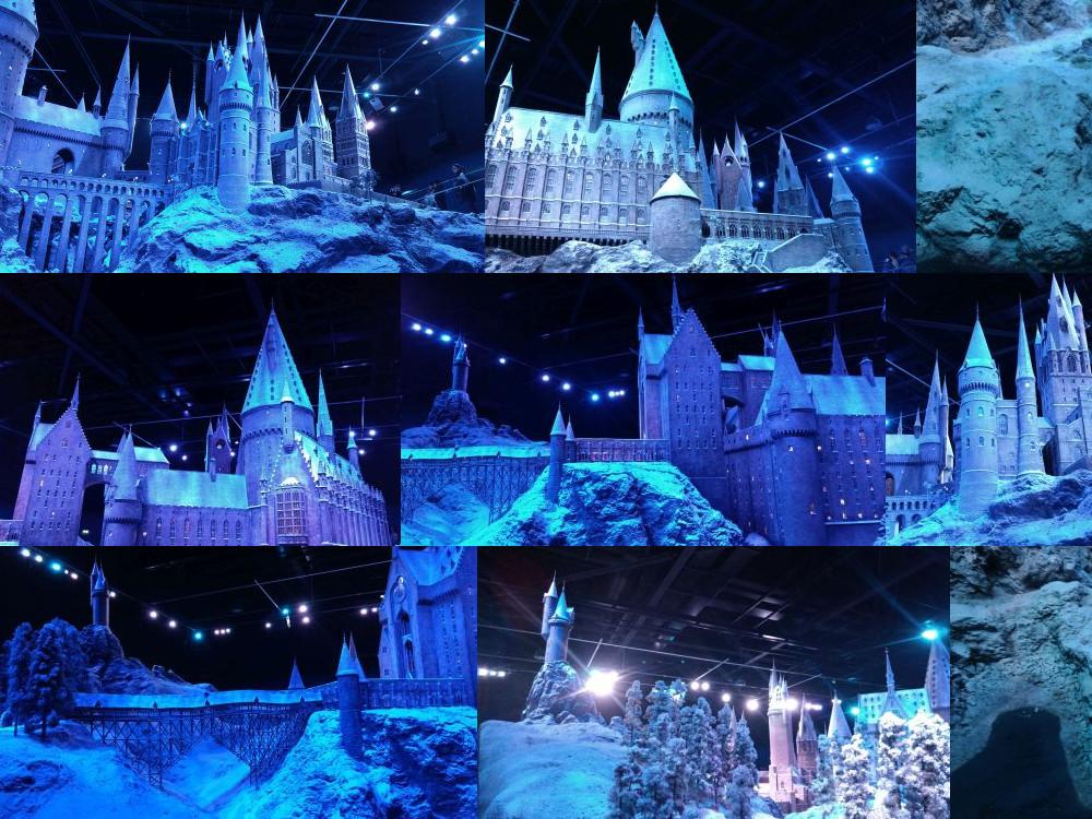 Hogwarts model, Leavesden Studios