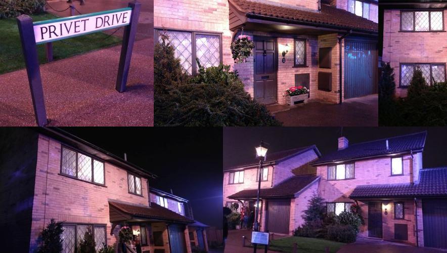 Harry Potter Studios: Privet Drive 4, Little Whinging