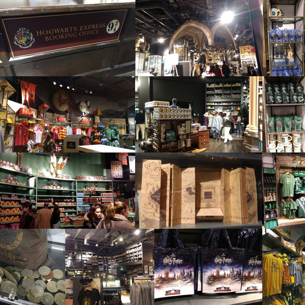 Harry Potter Studios souvenir shop