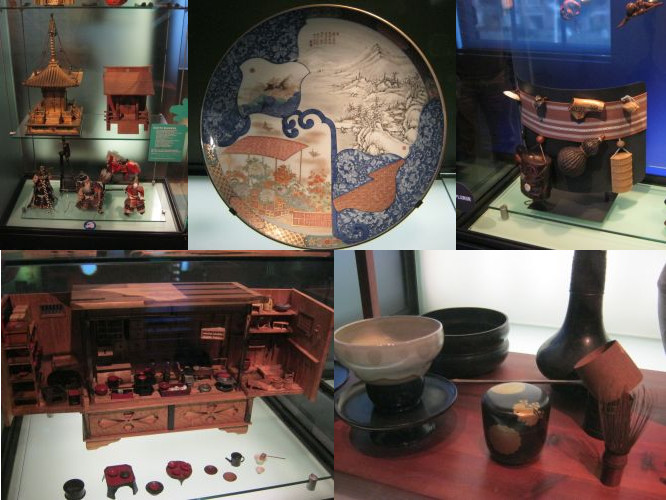 Objects from 19th century Japan