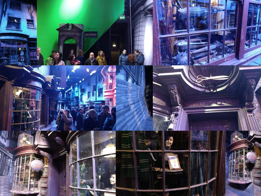 Diagon Alley, Leavesden