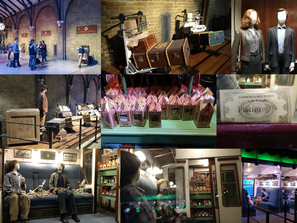 King's Cross Station at the Leavesden Studios London