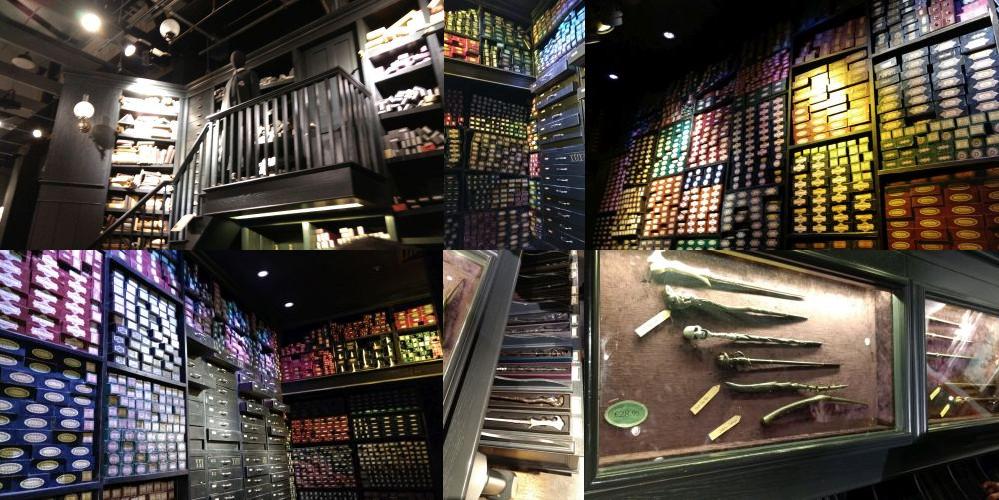 Ollivanders, Diagon Alley, London, Harry Potter Studios